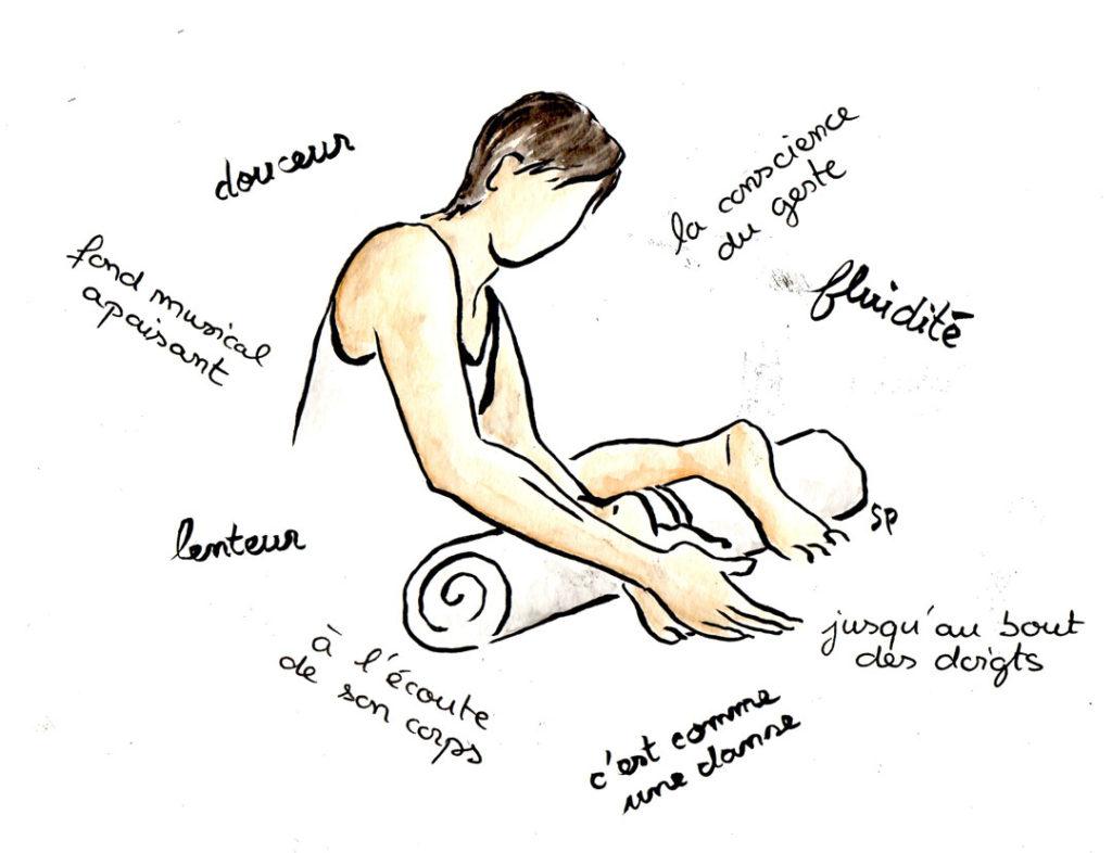 Massages bien être et réflexologie Carpentras NAthalie Pigree